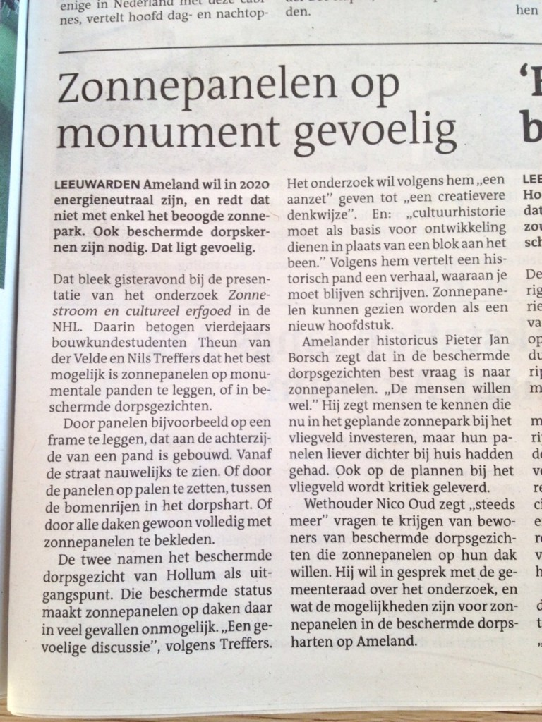 Leeuwarder Courant 06-02-2015