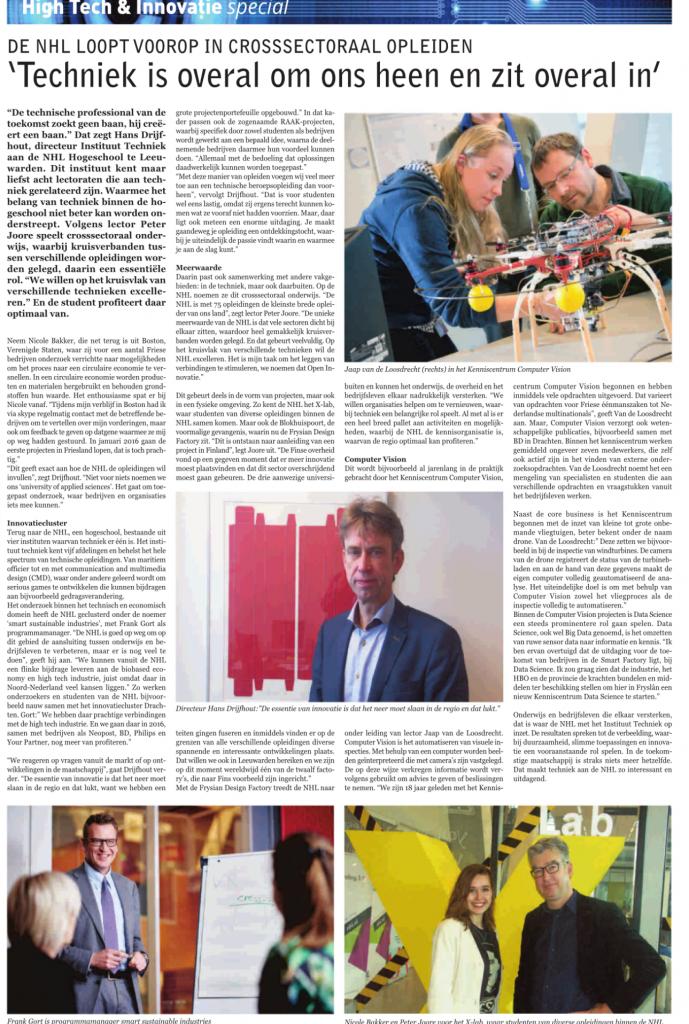 Leeuwarder Courant 29-12-2015
