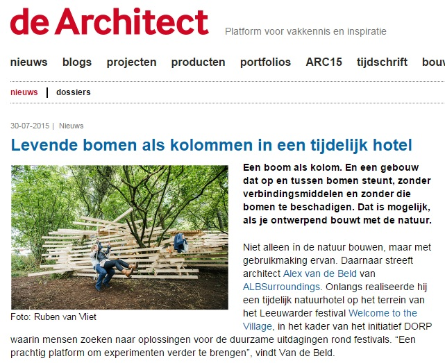 NEST - de architect