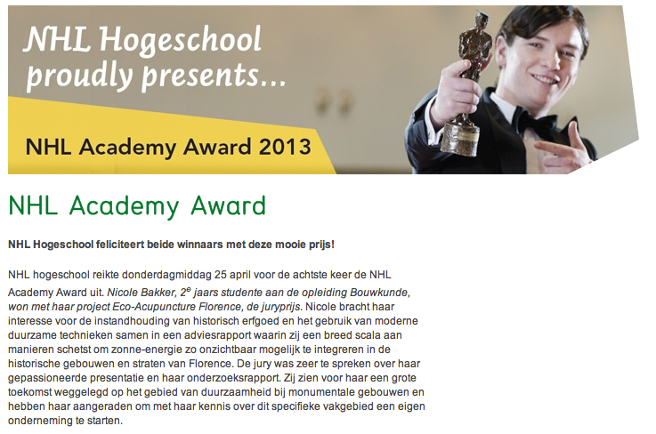 NHL Academy Award