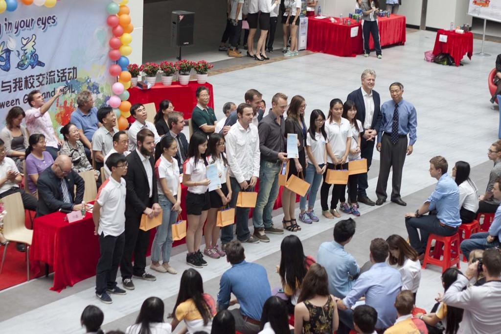 Prize ceremony China